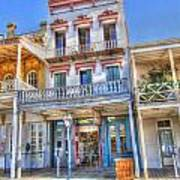 Old West Architecture Art Print