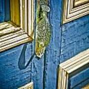 Old Wood Door Art Print
