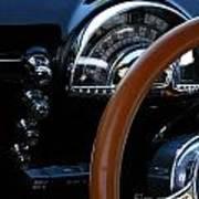 Oldsmobile 88 Dashboard Art Print