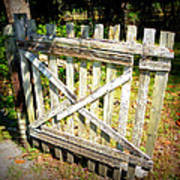 Ole Garden Gate I Art Print