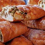 Olive Bread Art Print