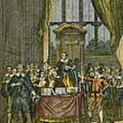 Oliver Cromwell Art Print