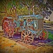 Oliver Tractor 2 Art Print