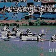 Olympic Rowing Art Print