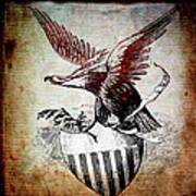 On Eagles Wings Art Print