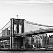 On The Brooklyn Side Art Print by Bill Cannon