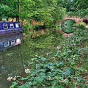 On The Canal Art Print