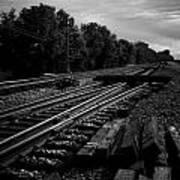 On The Tracks Art Print
