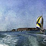 On The Water 2 - Venice Art Print