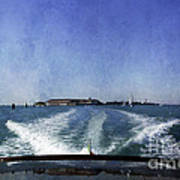On The Water 5 - Venice Art Print