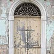 Once Proud Doorway Art Print