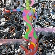 One At A Time Art Print by David Mintz