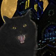 One Dark Halloween Night Art Print