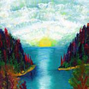 One More Sunset Art Print