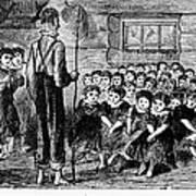 One-room Schoolhouse, 1883 Art Print