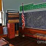 One Room Schoolhouse Art Print