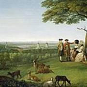 One Tree Hill - Greenwich Art Print