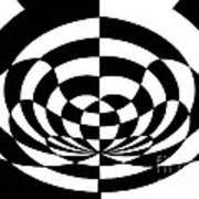 Op Art 2 Print by Methune Hively