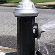 Open Fire Hydrant Art Print