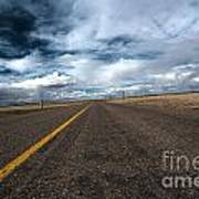 Open Highway Art Print by Arjuna Kodisinghe