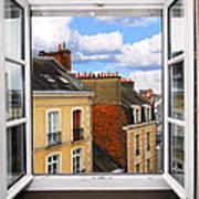 Open Window Art Print by Elena Elisseeva