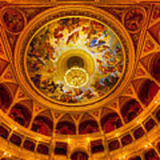 Opera-budapest Art Print