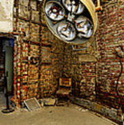 Operating Room - Eastern State Penitentiary Art Print