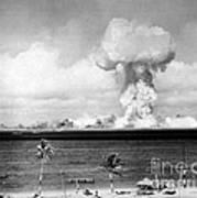 Operation Crossroads, Able Detonation Art Print