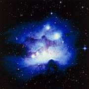Optical Image Of The Nebula Ngc 1977 In Orion Art Print