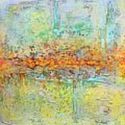 Orange Intenference Art Print