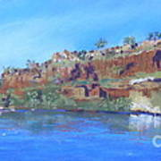 Ord River Afteroon Cruise Art Print