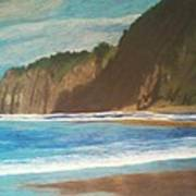 Oregon Beach Art Print
