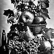 Oregon: Wine & Grapes Art Print