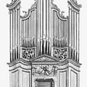 Organ, 1760 Art Print