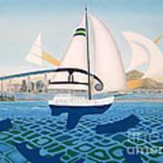 Coronado Sailin' - Memoryscape Art Print