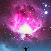 Orion Nebula Awestruck Art Print