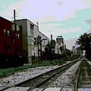 Orlando Tracks Art Print