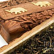 Ornate Box With Darjeeling Tea Art Print by Fabrizio Troiani
