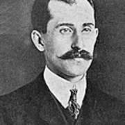 Orville Wright, Us Aviaton Pioneer Art Print