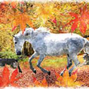 Osada's Fall Fun Art Print