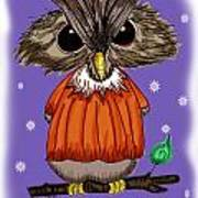Oscar Owl Art Print