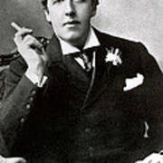 Oscar Wilde, Irish Author Art Print by Photo Researchers