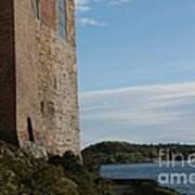 Oslo Castle And Harbor Art Print