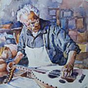 Oud Maker Art Print