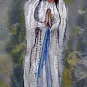 Our Lady Of Lourdes 2 Art Print