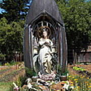 Our Lady Of The Harbor . Point Reyes Station California . 7d15911 Art Print