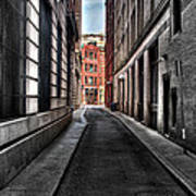Out Of The Alley Art Print