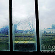 Out The Back Window Of The Delta Blues Museum Clarksdale Ms Art Print
