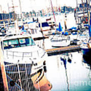 Out To Sea We Go Art Print