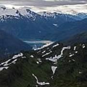 Over Alaska Art Print by Mike Reid